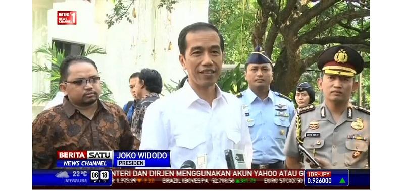Jokowi Memaafkan, Penahanan MA Ditangguhkan Minggu
